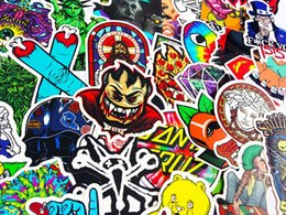 Wholesale Decal Laptop Sticker - Mega Cool Graffiti Stickers Decals Vinyls | Pack of 100 Finest Quality | Perfect To Personalize Laptops, Skateboards, Luggage, Cars, Bumpers