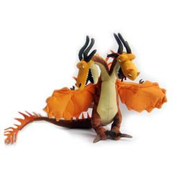 Grandi giocattoli ferroviari online-Grande formato all'ingrosso come addestrare il vostro drago mostruoso incubo peluche bambola giocattolo per bambini regalo di alta qualità