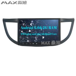 "Wholesale Dvd Player For Honda - HD 2G RAM 16G ROM 10.2"" Android 6.0 Car DVD Player for Honda CR-V 2015 2016 with Radio BT WIFI SWC GPS"