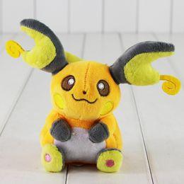Wholesale Pokemon Raichu - 15cm Anime Poke Plush Toy Raichu Stuffed Animal Toys Raichu Plush Toy Soft Baby Toy Free Shipping