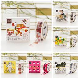 Wholesale Cute Bookmark Diy - Wholesale- 2016 1.5cm X 5M Cute Creative Washi Tape Bookmark DIY Decor Scrapbook Sticker Label Masking Tape School Office Supply Gift Stat