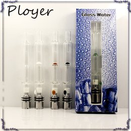 Argentina Pyrex Glass Hookah Atomizador Hierba seca Vaporizador Pluma Filtro de agua Tubo E Cigarrillo Bongs PK Mutación X V4 RDA ATB031 0266094 Suministro