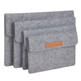 """Wholesale Kinder Laptop - High Quality Laptop Sleeve Bag Case Pouch Cover 10''11''12''13""""14''15'' for iPad Macbook Pro Air 4 kinds of size"""