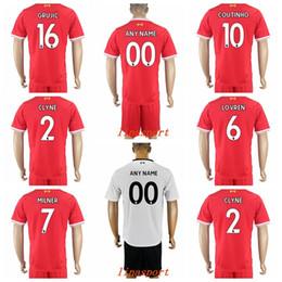 Wholesale Kelly Green Shorts - 2017-18 best quality Soccer sets 1Brad Jones 5Daniel Agger 37Martin Skrtel 34Martin Kelly 8Steven Gerrard 21Lucas Pezzini Leiva