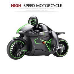 Wholesale Motorcycle Motor Toys - Wholesale-ZhenCheng 333-MT01B 1:12 4CH 2.4G RC Motorcycle Boys Electric Toys Radio Control Motorcycles