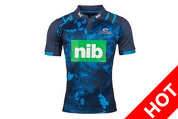 Wholesale El Flash Clothes - 2017 Jersey Rugby New Zealand Club Stormman football clothes Super jersey Rugby Stormers Bulls Sharks Jersey