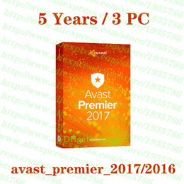 Wholesale Hot Avast Premier Years PC antivirus Security software License key Activation code full working Support Multilanguage