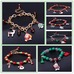 Wholesale Vintage Lucite Bangle Bracelet - Buy 1 free 1 Christmas Gift Enamel Charm Christmas Bracelet Jesus Pendant Bharm Bracelet Men Vintage Bracelet & Bangles For Men Women