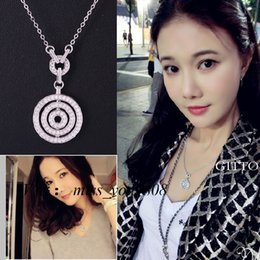 Wholesale Nice Female Necklaces - Pendants S925 Sterling Silver Charms Jewelry Hot 2017 Fashion New Luxury Fortunes Female Necklaces Nice Gift Manufacturers Wholesale Style