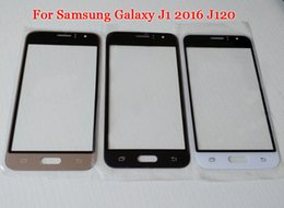 Wholesale Screen Glass Lens Tools - Hot 2016 J1 Outer Glass Lens Replacement for Samsung Galaxy J1 2016 J120F Touchscreen Outer Screen Glass Cover J120 cases With Tool