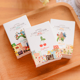 Wholesale Sticker 52 - 52 Pcs lot 3 Styles Boxed Paper Sticker Sticky Decoration Decal DIY Album Diary Scrapbooking Post It Stationery