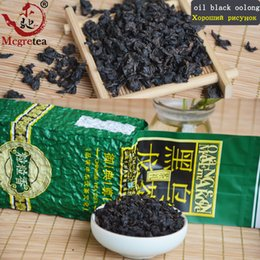 Wholesale Loss Weight Tea - sale good tea Oil Cut Black Oolong Tea Tie Guan Yin Fast Weight Loss 250g Tieguanyin Black Oolong Slimming Tea,