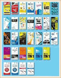 Wholesale Cheap Iphone Screens - Empty Retail Package Paper Boxes 10pcs each cheap box Packaging for Premium Tempered Glass 9H Screen Protector Sony iphone samsung
