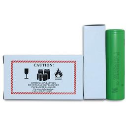 Wholesale E Cigarette Rechargeable - 18650 Batteries Lithium VTC5 18650 battery for e cigarette mod e cig 18650 3.7V 2600mAh DHL Shipping