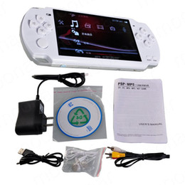 Wholesale Touch Screen Mp4 Games - FREE Built-in 5000 games, 8GB 4.3 Inch PMP Handheld Game Player MP3 MP4 MP5 Player Video FM Camera Portable Game Console