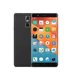 Pantalla táctil grande de 6 pulgadas Gran teléfono Android delgado Ulim R8S Marco CNC de metal Quad Core Android 5.1 OS Smartphone barato con funda gratis desde fabricantes