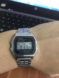 Deporte llevado mujeres reloj digital online-Top marca de lujo hombres mujeres LED deporte reloj digital montre femme calendario Chrono Relogio Ladies Watch reloj hombre