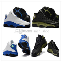 Wholesale Cheap China Canvas Shoes - 2017 Cheap New Retro 13S China mens basketball shoes top quality outdoor sports shoes for men designer size US 8-13 Free Drop Shipping