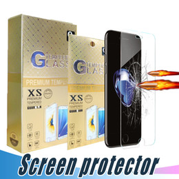 Wholesale Scratch Shatterproof Protector For Iphone - For iPhone 5S 6 6S 7 8 Plus Tempered Glass Screen Protector Shatterproof 9H 2.5D Film For Samsung J7 Prime S6 J5 LG Stylo3 Aristo V3