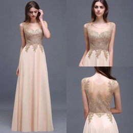 Wholesale Women See Robe - Cheap Women Long Prom Dresses Appliques See Through 2017 Robe de Soiree Longue Lace Summer Evening Gowns Formal Party Dress cps506