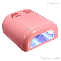 Wholesale 9w Uv Tubes - Professional 110-220V 36W Nail Art Polish Dryer Bulb Lamp UV Gel Acrylic Cur-ing Light 9W Tube Bulbs Kit Nails Tools Hot Sale