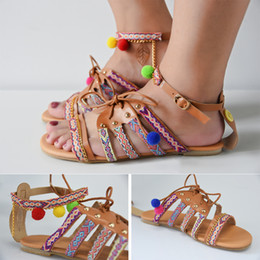 Wholesale Thongs Cutouts - Women's Casual Strappy Rhinestones Thong Buckle Strap Gladiator Flat Sandals Womens Open Toe Ankle Strap Cage Cutout Flat Strappy Flats-Sand