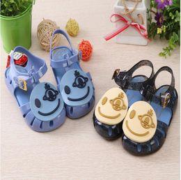 Wholesale Melissa Shoes Beach Jelly - designer mini melissa toddler girl shoes sandals jelly dress pvc children kids baby orthopedic beach summer 2017