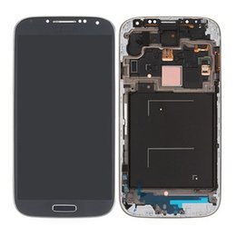 Wholesale Display S4 Blue - AAA Quality 2016 New LCD Lens Screen+Touch Digitizer Assembly For Samsung Galaxy S4 i337 i545 display Blue White Free Shipping