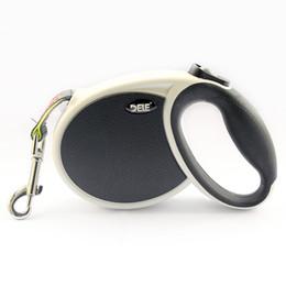 Wholesale Size Retractable Dog - armipet Size 5 M Black White Style Retractable Automatic Dog Leash Lead Dogs Collar Leashes 6043014 Pet Accessories
