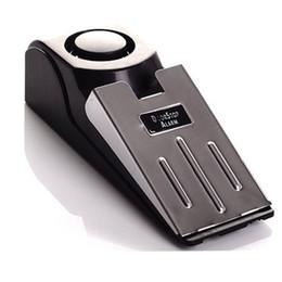 sistema de alarma de hogar pstn gsm Rebajas Alarma de tope de puerta mejorada: excelente para viajar Seguridad Tope de puerta tope de puerta Herramientas de seguridad para el sistema de bloqueo de bloque de casa 120DB