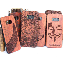 Wholesale Hard Case For Sale - Hot sale Luxury Wood Phone Cover For Iphone 5 6 6S 7 Plus Wood Cases Hard Back Shell For Samsung Galaxy S8 S8 Plus S5 S6 S7 edge
