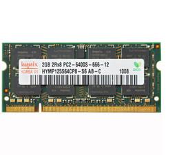 Wholesale Ddr2 1gb - Notebook memory 1GB DDR2 800MHz Laptop RAM 2GB 2Rx8 PC2-6400S for HP CQ61CQ40 CQ41 CQ36 CQ45 4416S 6515 6531S V3000 8530p 8530w 8730w 6515