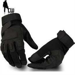 Wholesale Mitten Wear - Wholesale- Hot Sale Man Tactical Gloves Polyester Fiber Protect Outdoors Gloves Mountaineering Wear Non-Slip Mittens Warm Winter Gloves