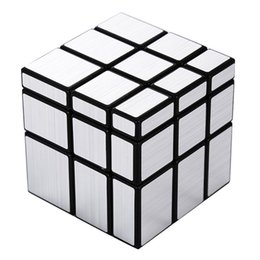 Wholesale Magic Block Puzzles - Magic Cube 3x3x3 Mirror Blocks Bump Twisty Puzzle Ultra Smooth Puzzle Toys New Year Gifts Stress Reliever Magic Cube