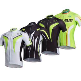 Wholesale Road Bike Clothing Women - bike jerseys green black men women cycling clothing bicycle road jersey cycling wear shirts