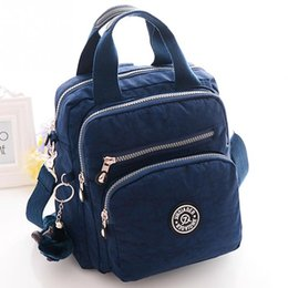 Wholesale Wholesale Nylon Backpack - Wholesale- women shoulder bags back packs waterproof ladies messenger bag Nylon brand designer bolsas *35
