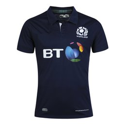 Wholesale Heat Jerseys - Free shipping! Rugby Union 2015 -16Rugby World Cup Scotland Country new jersey High-temperature heat transfer printing jersey Rugby Shirts