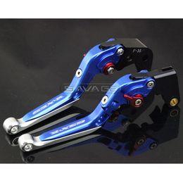 Wholesale Motorcycle Levers Suzuki - For SUZUKI GSXR 600 750 GSXR600 GSXR750 06-10, GSXR1000 05-06 Motorcycle Adjustable Folding Extendable Brake Clutch Lever Blue