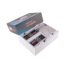 Wholesale Mini TV Handheld Game Console Video Game Console For Nes Games with Different Built in Games PAL NTSC with retail box