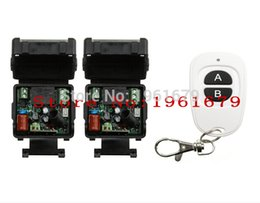 Wholesale Remote Receiver Prices - Wholesale-Just price AC 220 V 1 CH RF mini Wireless Remote Control 2* Receiver & 1* Transmitter 315 mhz or 433 mhz