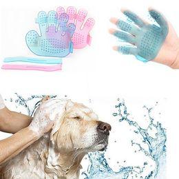 Wholesale Pet Baths - Pet Dog Cat Bath Brush Grooming Massage Glove Accessories Pet Supply Dogs Cat Tools Pet Comb