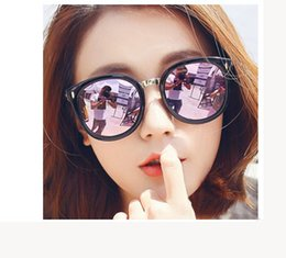 Wholesale Wholesale Framing Nails - New rice nail eyeglasses arrowhead sunglasses stylish men's and women's fashion sunglasses with bright reflector sunglasses for free deliver