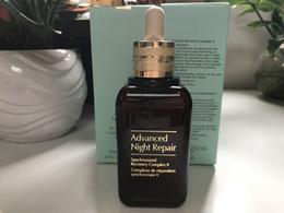 Wholesale blanchiment hydratant crème anti âge visage soin de la peau Advanced Night Repaire Récupération Syncronisée Réparatrice ml ml dhl