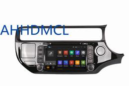 Wholesale Dvd Player For Kia Rio - Car DVD PC Audio Radio Player Android 5.1.1 GPS DVR WiFi For Kia Rio Right Hand Drive 2015 2016 2017