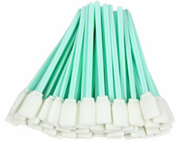 Wholesale Mimaki Solvent - Wholesale- (50 swabs ) Roland Swab Kit, 5 inch Cleaning Swabs for Solvent Resistant Printers Roland Mimaki Mutoh