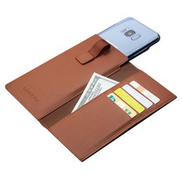 Wholesale Leather Card Holder Thin - B306 Case For Samsung Galaxy S8 Plus luxury Leather Cover For Samsung S8+ Card Holder Luxury Ultra thin Case