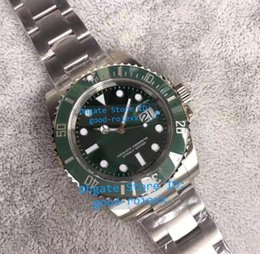 Wholesale Watch Mens Sport - Noob Factory V7 Version Mens Automatic Sapphire Crystal Watch Green Ceramic Calendar Eta 2836 Watches Men Luminous Dive Sport Wristwatches