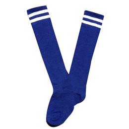 Wholesale Little Boys Socks - Wholesale- 2016 New Style Girls And Boys Little Child Long Socks Over Knee High Sock Skarpetki Sokken For Students #OR