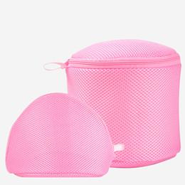 Wholesale Zipper Socks - Bra Wash Bags, Lingerie Laundry Bag Reusable Mesh Laundry Bra Bags With Zipper Closure For Underwear, Delicates, Socks For Women Of 2 Sets.