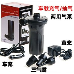 Wholesale Wholesale Used Car Batteries - Wholesale- HT-677 dual pump storage battery charging and pumping pump, car for outdoor use b36